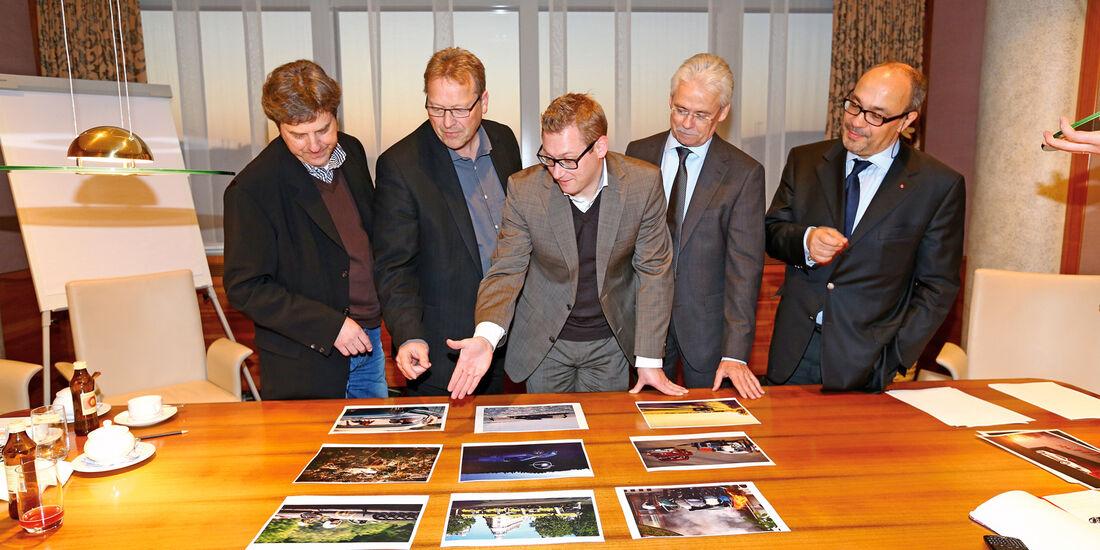 Michael Heinz, Udo Zell, Jens Katemann, Bernd Ostmann, Andreas Kaufmann