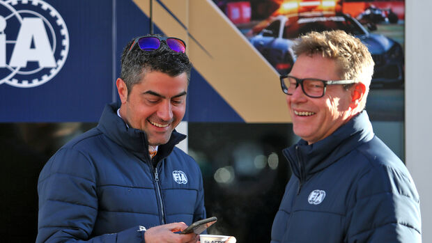 Michael Masi - FIA - Bernd Mayländer - Formel 1