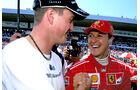 Michael & Ralf Schumacher - GP Deutschland 2002