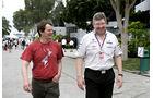 Michael Schmidt & Ross Brawn - GP Malaysia 2011