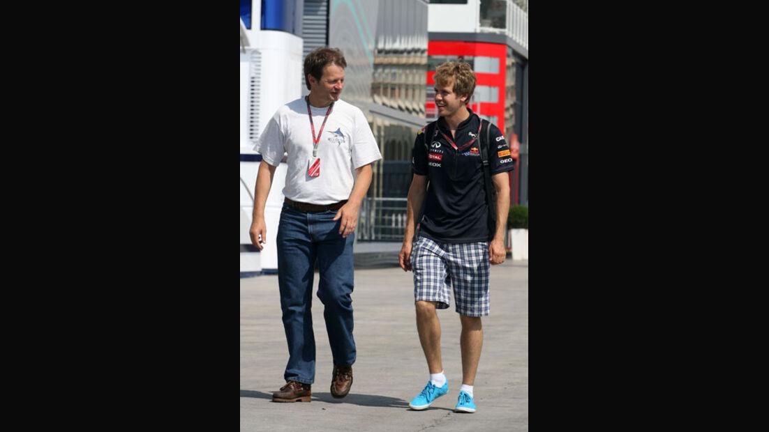 Michael Schmidt & Sebastian Vettel
