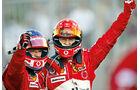 Michael Schuhmacher, Rubens Barrichello