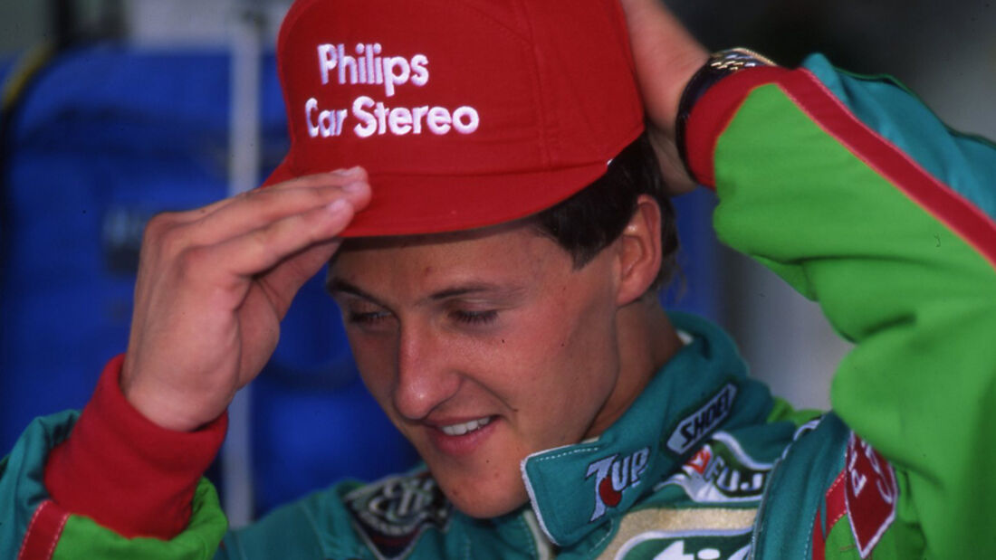 Michael Schumacher 1991 Spa GP Belgien Debüt
