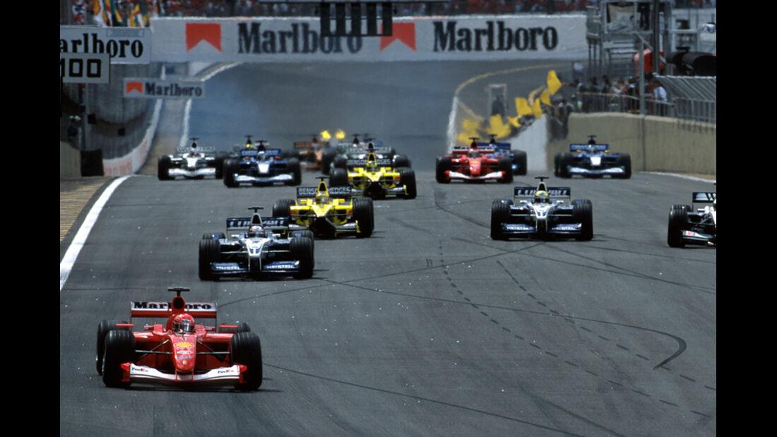 Michael Schumacher 2001 GP Brasilien