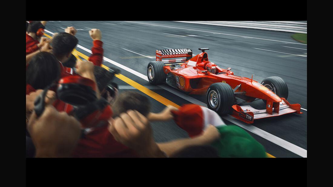 Michael Schumacher - Automobilist - Poster - F1