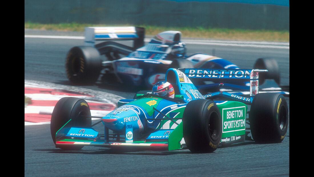 Michael Schumacher - Benetton B194 - GP Frankreich 1994