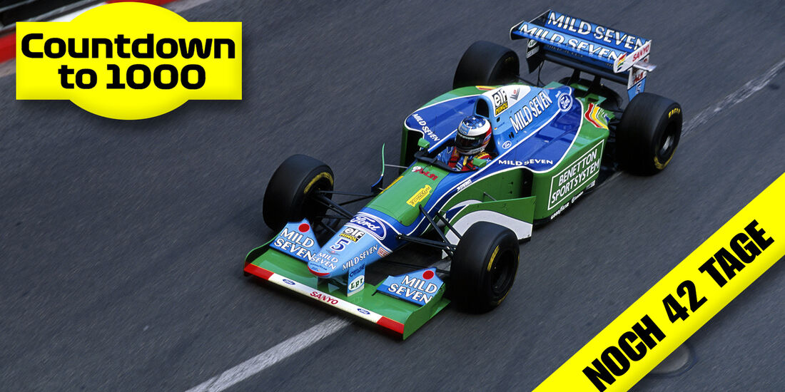 Michael Schumacher - Benetton B194