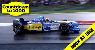 Michael Schumacher - Benetton B195 - GP Europa 1995 - Nürburgring