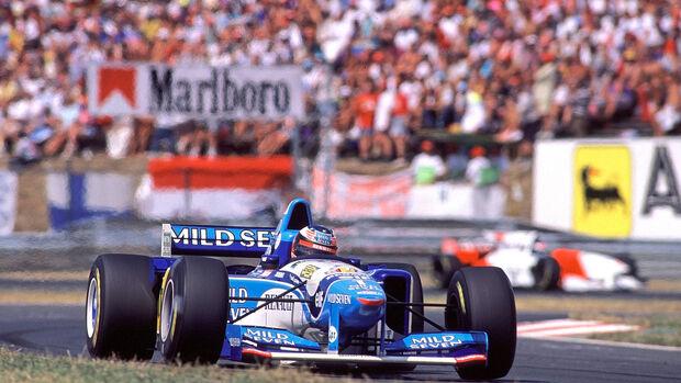 Michael Schumacher - Benetton B195 - GP Ungarn 1995