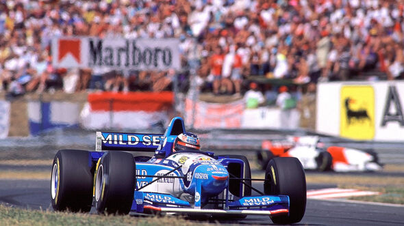 Michael Schumacher - Benetton B195 - GP Ungarn 1995