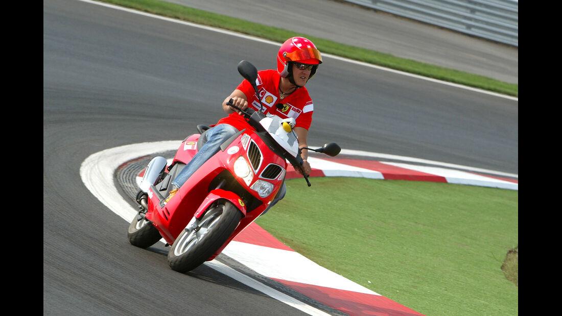 Michael Schumacher - Bikes der F1-Piloten