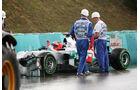 Michael Schumacher Crash GP Ungarn 2012