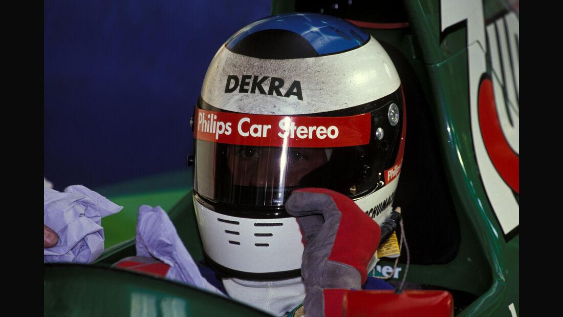 Michael Schumacher - F1-Debüt - GP Belgien 1991