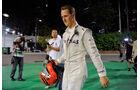 Michael Schumacher F1 Singapur 2012
