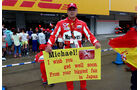 Michael Schumacher-Fan - Formel 1 - GP Japan - Suzuka - 24. September 2015