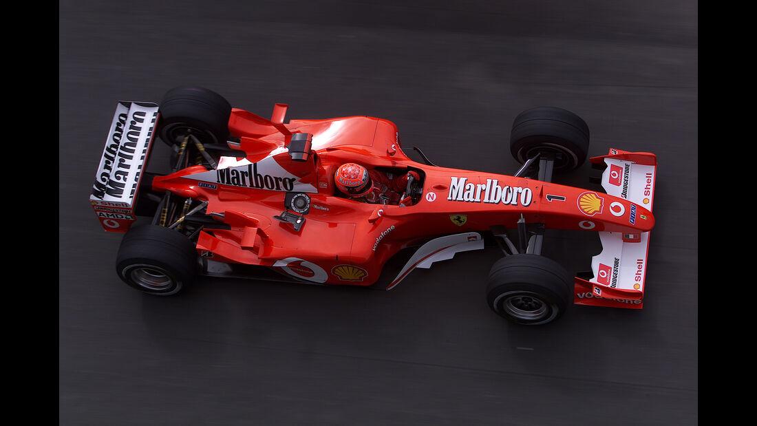 Michael Schumacher - Ferrari 2002 - GP Europa 2002 - Nürburgring