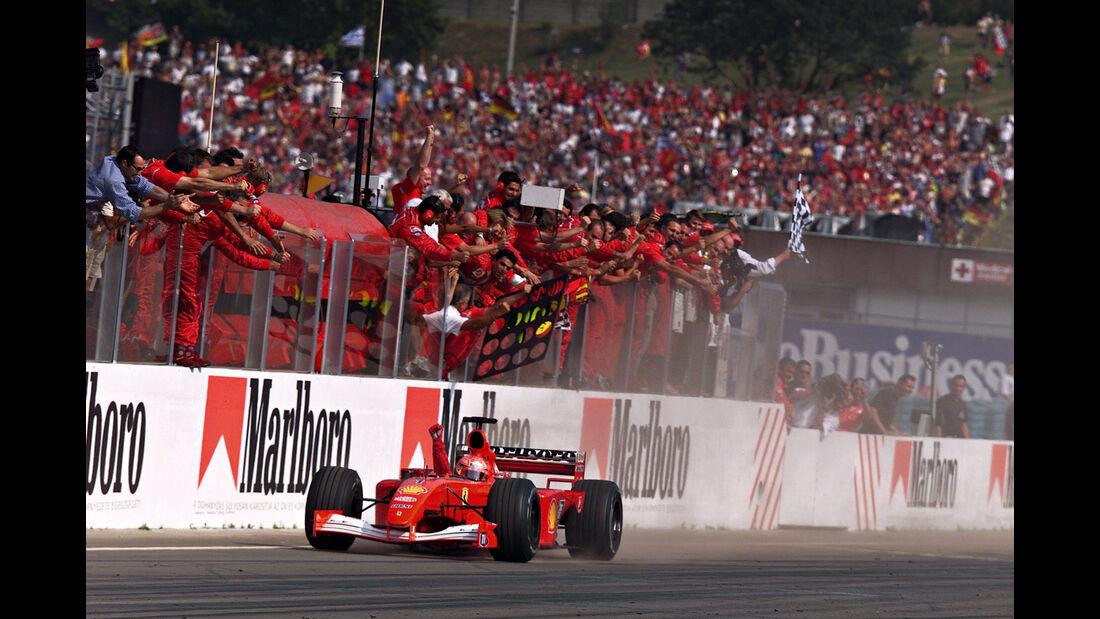 Michael Schumacher - Ferrari F2001 - GP Ungarn 2001