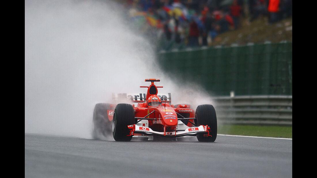 Michael Schumacher - Ferrari F2003-GA - Spa 2003