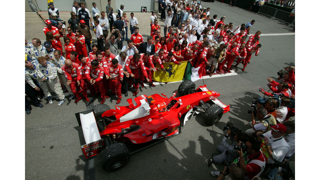 Michael Schumacher - Ferrari F2004 - GP Kanada 2004