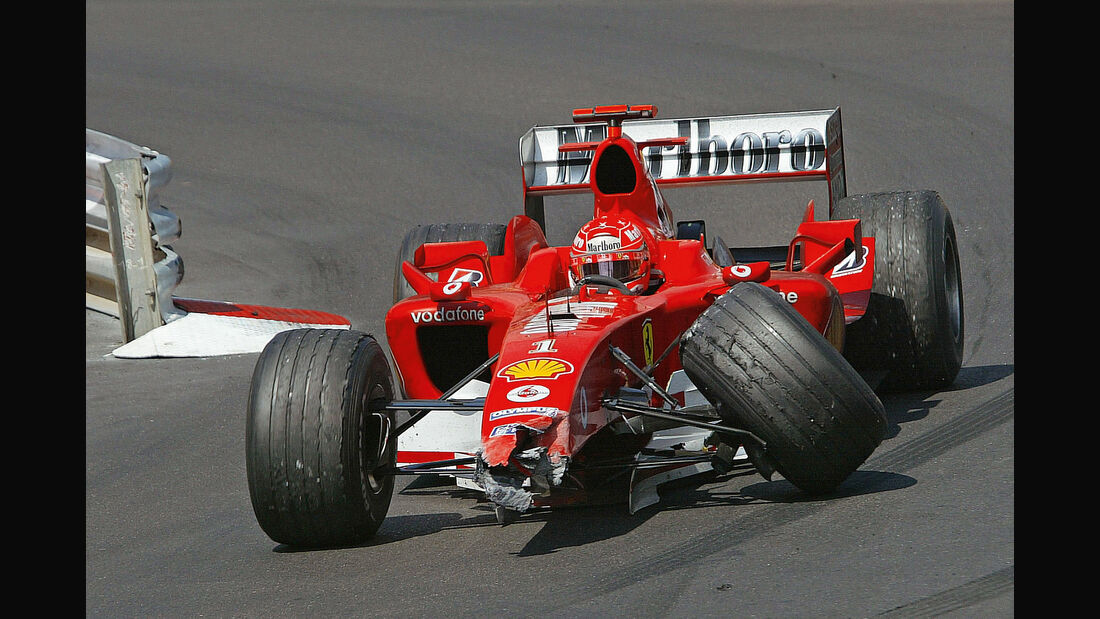Michael Schumacher - Ferrari F2004 - Monaco 2004