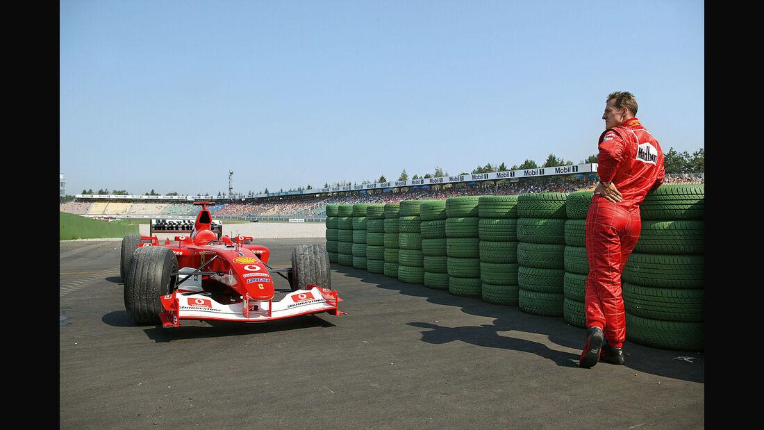 Michael Schumacher - Ferrari F2005 - Hockenheim 2005