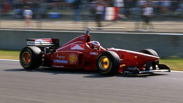 Michael Schumacher - Ferrari F310 - GP Frankreich 1996 - Magny-Cours