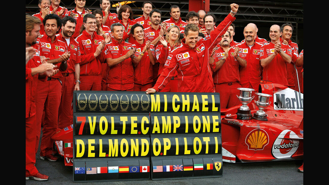 Michael Schumacher - Ferrari - GP Belgien 2004