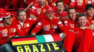 Michael Schumacher - Ferrari - GP Brasilien 2006