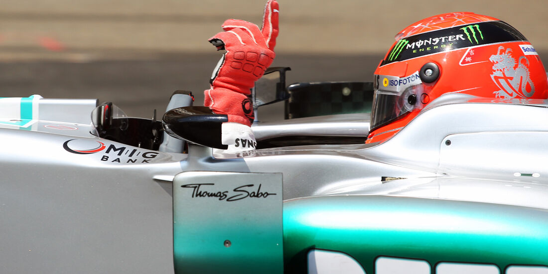 Michael Schumacher Formel 1 2012
