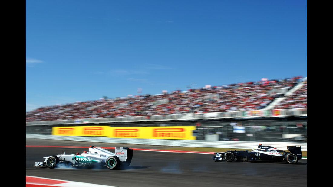Michael Schumacher Formel 1 Austin GP USA 2012
