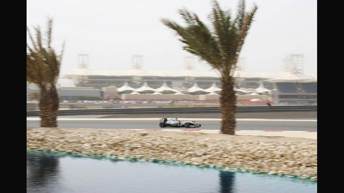 Michael Schumacher - Formel 1 - GP Bahrain - 21. April 2012