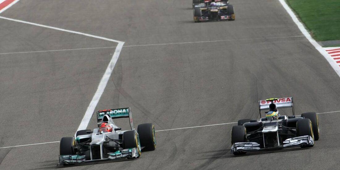 Michael Schumacher  - Formel 1 - GP Bahrain - 22. April 2012