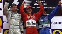 Michael Schumacher - Formel 1 - GP Belgien 2001
