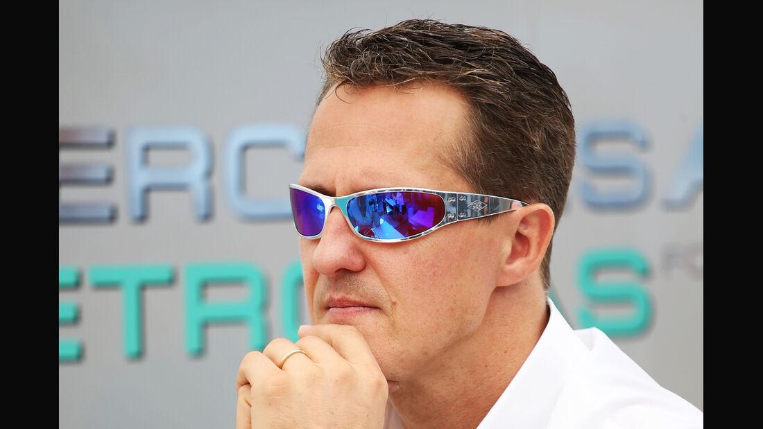 Michael Schumacher - Formel 1 - GP Brasilien - Sao Paulo - 22. November 2012