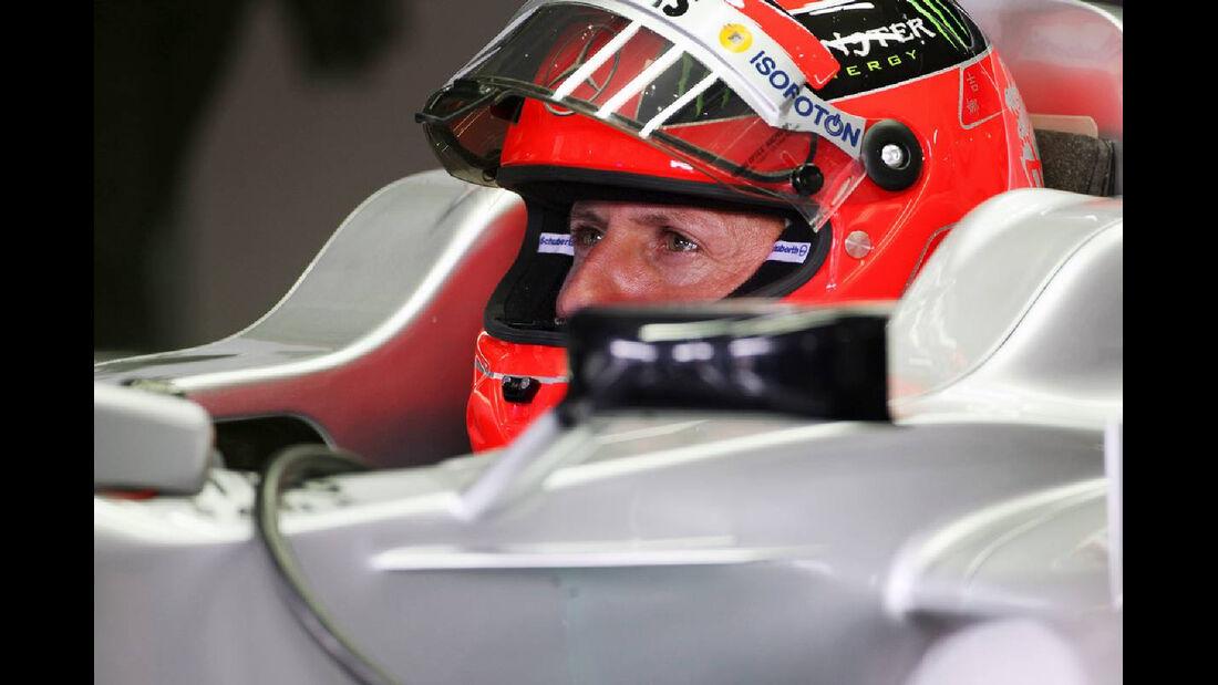 Michael Schumacher - Formel 1 - GP Deutschland - 20. Juli 2012