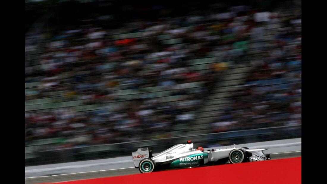 Michael Schumacher - Formel 1 - GP Deutschland - 22. Juli 2012