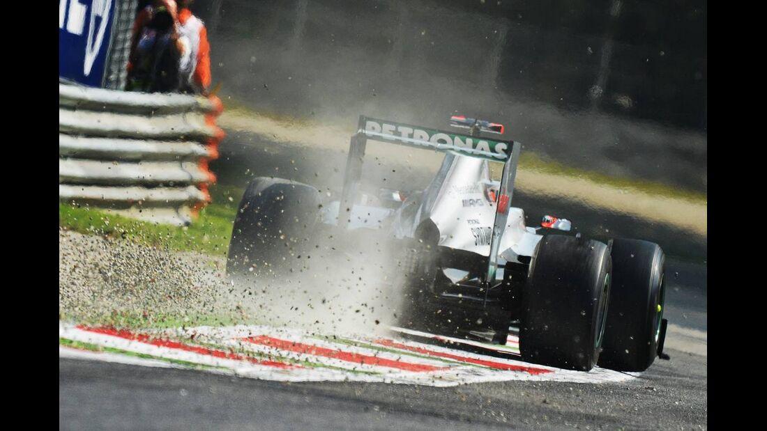 Michael Schumacher  - Formel 1 - GP Italien - 07. September 2012