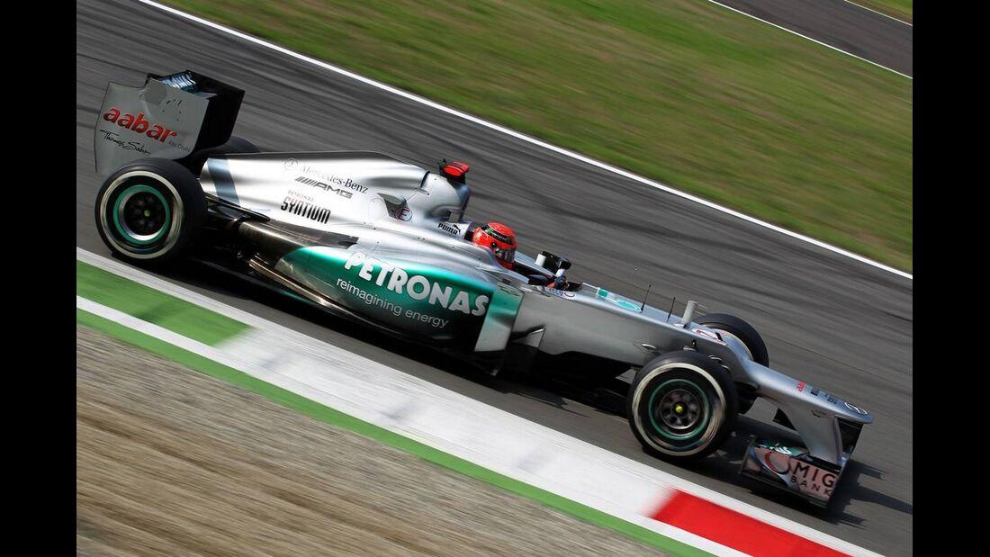 Michael Schumacher - Formel 1 - GP Italien - 08. September 2012