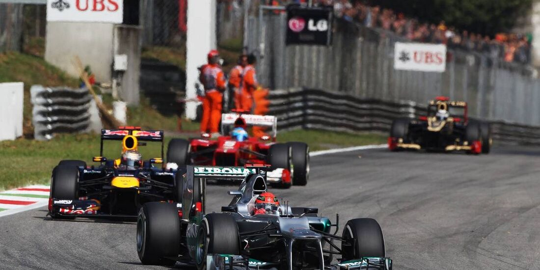 Michael Schumacher - Formel 1 - GP Italien - 09. September 2012