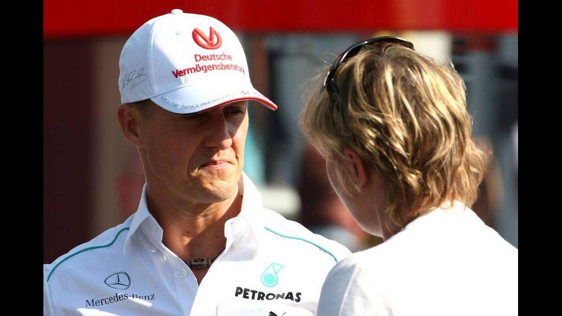 Michael Schumacher - Formel 1 - GP Italien - 6. September 2012