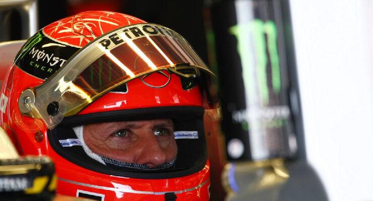 Michael Schumacher - Formel 1 - GP Japan - 08. Oktober 2011