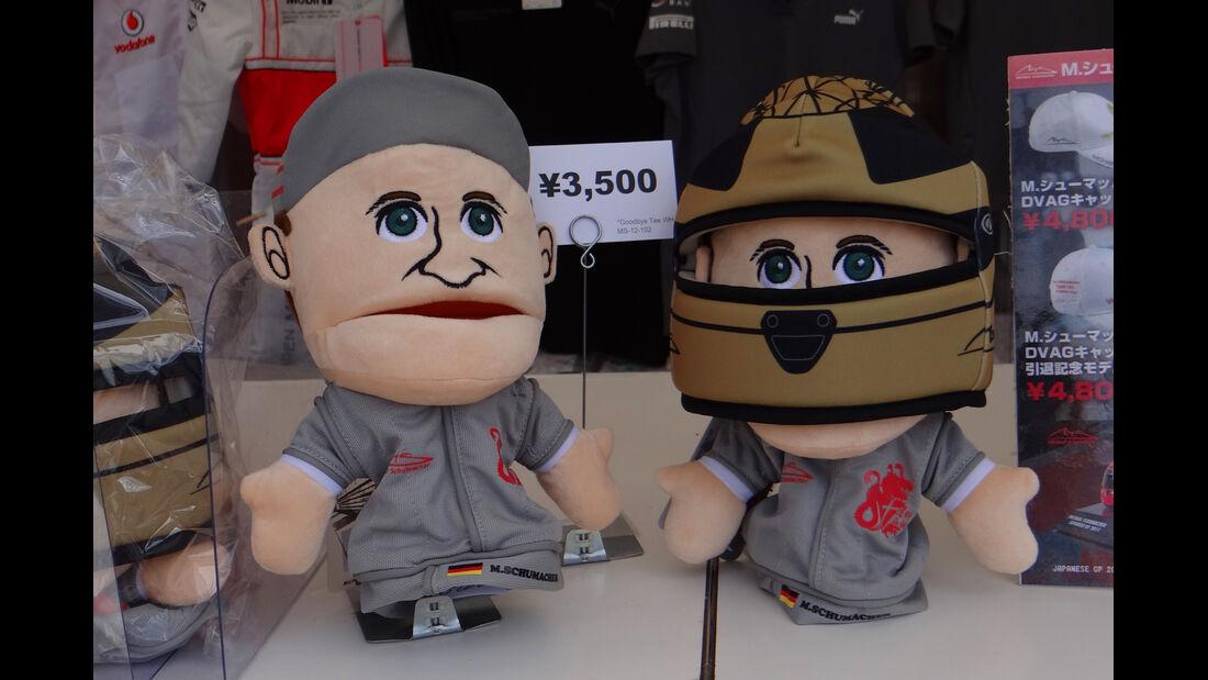 Michael Schumacher - Formel 1 - GP Japan - Suzuka - 10. Oktober 2013