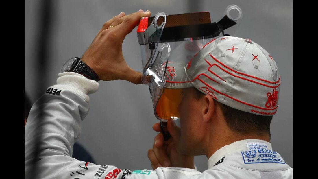 Michael Schumacher - Formel 1 - GP Korea - 14. Oktober 2011