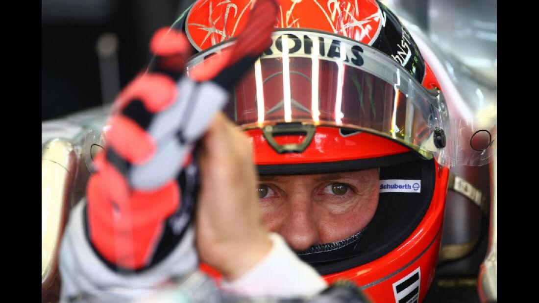 Michael Schumacher  - Formel 1 - GP Korea - 15. Oktober 2011