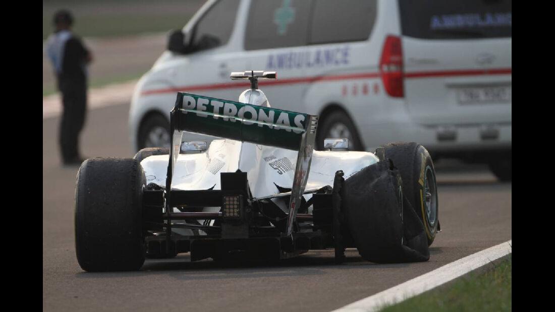 Michael Schumacher - Formel 1 - GP Korea - 16. Oktober 2011