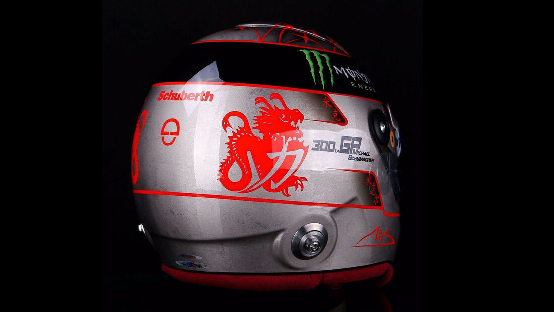 Michael Schumacher - Formel 1 - Helm