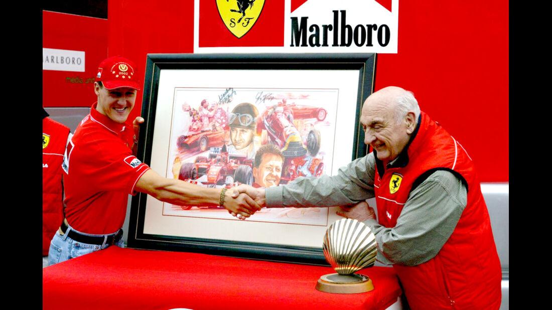 Michael Schumacher Froilan Gonzalez 2002