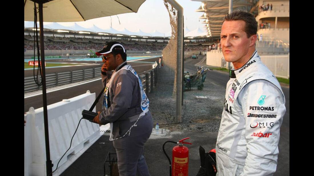 Michael Schumacher GP Abu Dhabi 2010
