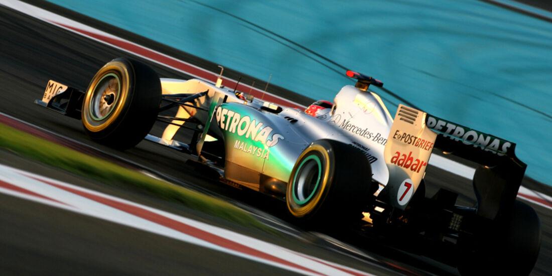 Michael Schumacher GP Abu Dhabi 2011