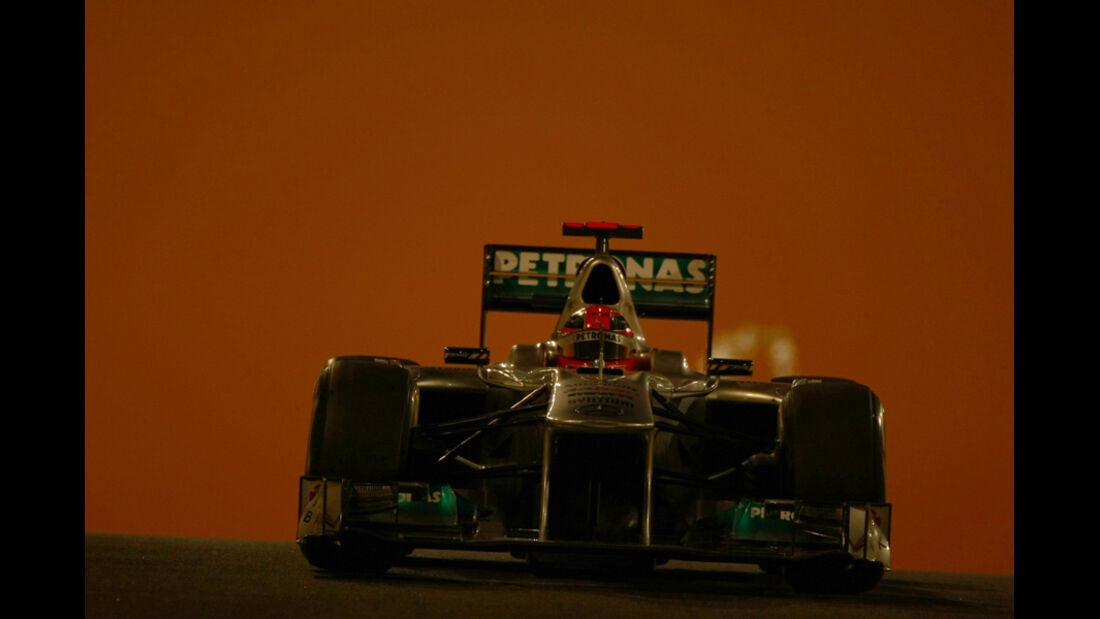 Michael Schumacher - GP Abu Dhabi - Freies Training - 11. November 2011
